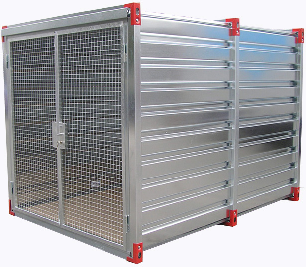 Kovobel le container de stockage demontable options for Porte double battant exterieur