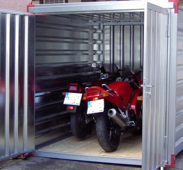 Garages kovobel le container de stockage demontable for Ouvrir un garage moto